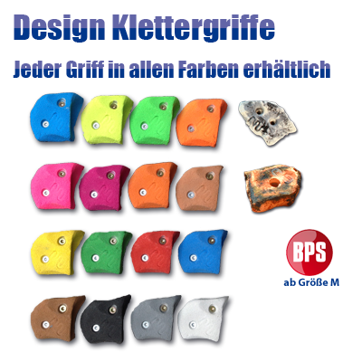 Design Klettergriffe