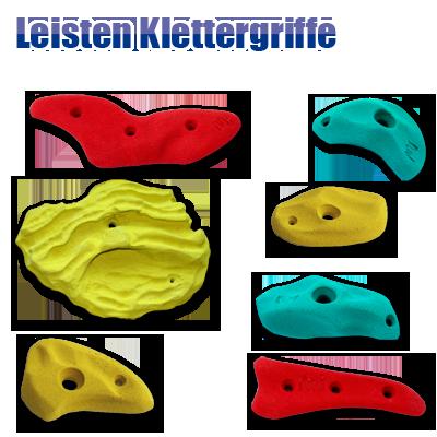 Leisten-Klettergriffe