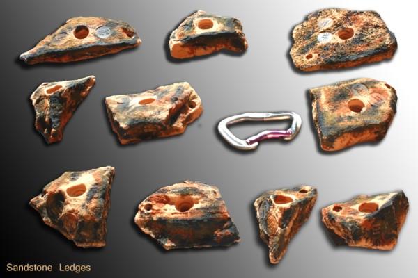 Sandstone Ledges M Klettergriffe